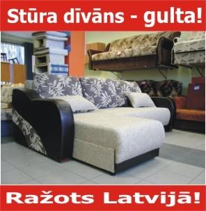 Latvijā ražotas mēbeles!