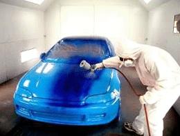 Virsbūves darbi un auto krāsošana.