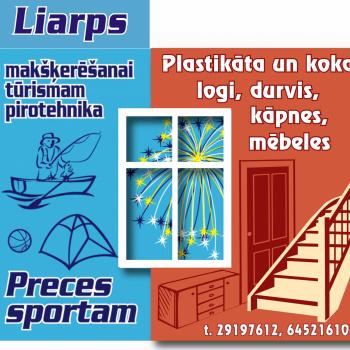 """""""LIARPS"""" makšķerniekiem un sportistiem"""
